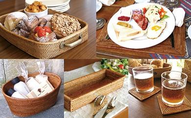 バリ島発アタ製品 キッチン雑貨5種セット