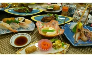 [№5723-0232]レストランはまなす食事券・2名様分(白糠食材コース料理・道産ワイン付)