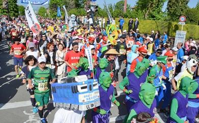 [№5815-0105]第44回安政遠足侍マラソン大会先行エントリー権 記念品付