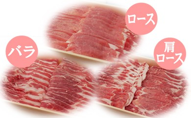 36-10 茨城県産ブランド豚ローズポーク食べ比べセット 1.05㎏
