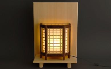 [№5820-0115]組子行燈(あんどん)セット