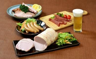 26-2 国産豚肉使用ロースハム・ウィンナー・ベーコンセット 計1600g