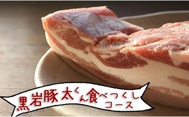 【定期便】黒岩豚太くんシリーズ 食べつくしコース 4ヶ月