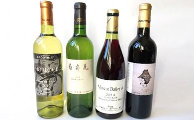 [№5760-0100]甲府ワイン4種飲み比べセット