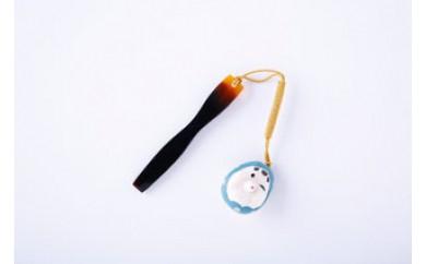 HC-1.【奈良べっ甲】 象牙ひょっとこ根付帯指付