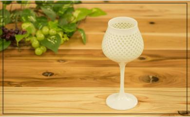 OA14 【至高の逸品】丹心窯水晶彫ワインカップ【波佐見焼】【丹心窯】