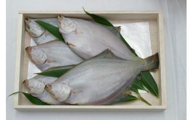 [№5921-0072]【魚屋hide】鳥の海の焼きがれいと干しがれいの詰合せ