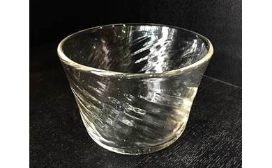 BA60 倉敷ガラス 小鉢(透明)