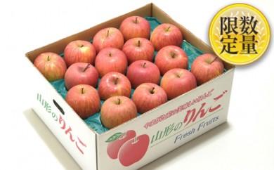 [№5805-1909] ♪フルーツ王国山形♪サンふじりんご約10kgご自宅用※クレジットのみ
