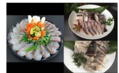 D-2.【紀北町】高級魚を身近に!手間いらず本クエ鍋・マハタ鍋・真鯛のしゃぶしゃぶセット