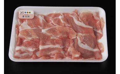 福岡県赤村産豚肉4kg小間切れ(ウデ・モモ)500g×8p