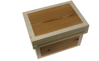 [№5809-2119]職人仕上げ! お茶の保存に便利な茶箱アルミ張り