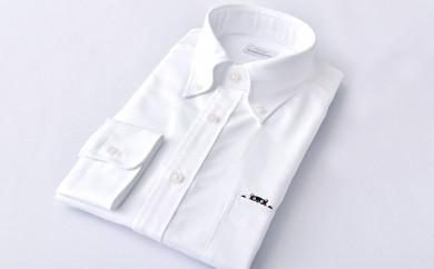 くまモン 紳士用 白 HITOYOSHIシャツ