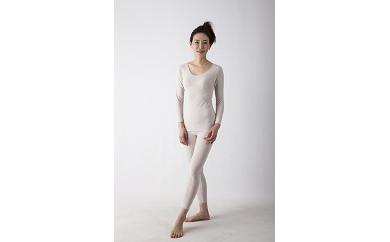 Suppor+(サポータス)インナー婦人用長袖シャツ・長袖パンツ上下セット