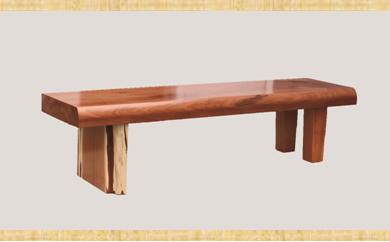 [№5723-0240]桂(脚オンコ)(約7.5cm)座卓
