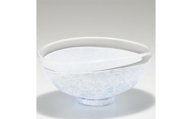 楕円鉢  (ライトブルー) 川原有造作【1032631】