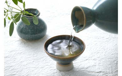 [№5632-0007]久住千羽鶴「純米酒 山廃」、「本醸造」セット