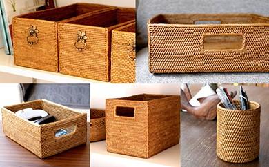 バリ島発アタ製品 ボックス&ケース5種セット
