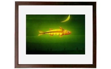 BH04 ファインアート「月の魚」【97000pt】