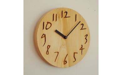 【E-3】木の時計