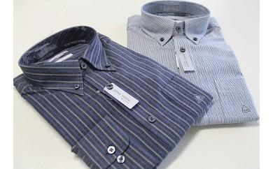 B21 洋服の青山シャツ×播州織(メンズ・カジュアル・1着)