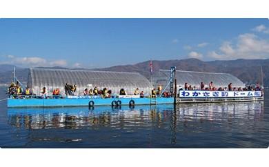 48-02 諏訪湖わかさぎ釣り体験(2時間の観光体験コース:大人2名・子ども2名の1組様分)/諏訪湖釣舟センター