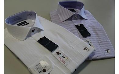 D20 洋服の青山シャツ×播州織(メンズ・2着セット)
