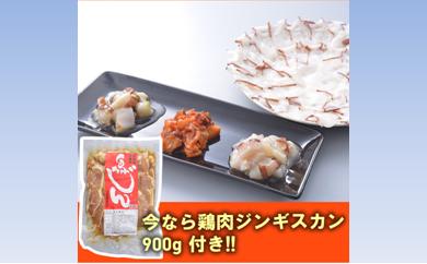 [№5723-0151]今なら「鶏肉ジンギスカン900g」プレゼント 酒の肴にしゃぶしゃぶに たこ三昧セット