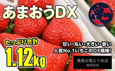 B571 目利き厳選あまおうDX 280g×4パック