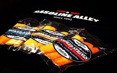 さけるスモークチーズ<Smoked Strings>& ガソリンアレイ オリジナルTシャツセット