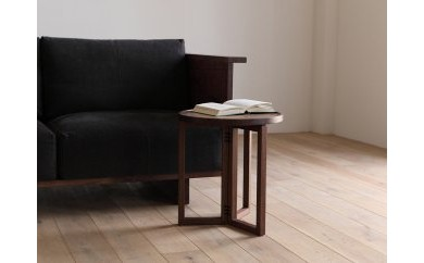 BG31 SPAGO Circle Table 042 High walnut【183,750pt】