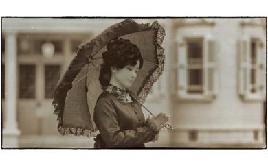 c_34 エルマーナ ハイカラさんの衣裳を着て六華苑散策&Roccaでランチ