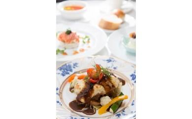c_35 エルマーナ レストランRoccaペアお昼のフルコース