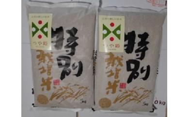 200 つや姫玄米定期便(5kg×2袋)12回分