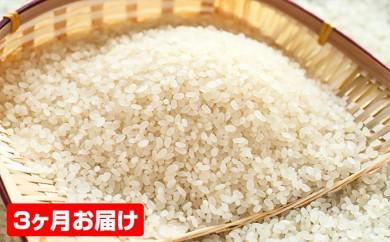 [№5792-0207]【3ヶ月連続お届け】郷の有機使用特別栽培米ササニシキ 7kg
