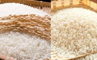 [№5792-0198]郷の有機使用特別栽培米 ひとめぼれ 7kg + ササニシキ 7kg