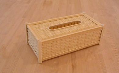 四国産竹使用 ティッシュBOX