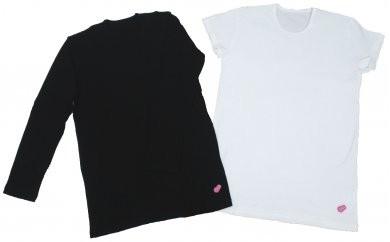 CL23 amamiainaヨガメンズ半袖Tシャツ(ホワイト)M 長袖Tシャツ(ブラック)M2点セット【28000pt】