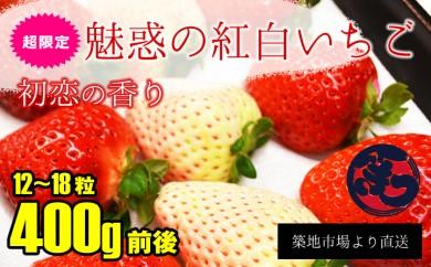 B164 【限定品】初恋の香り 魅惑の紅白いちご
