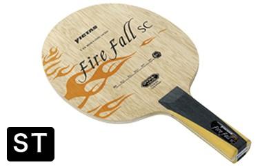 【Z-107】VICTAS製卓球ラケット ファイヤーフォールSC(ST)
