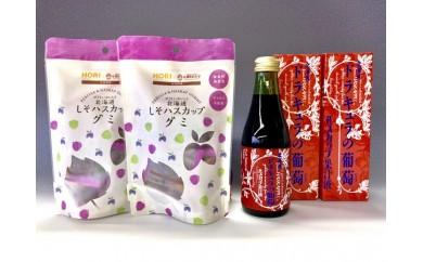 107 セットE(ドラキュラの葡萄果汁液&グミセット)