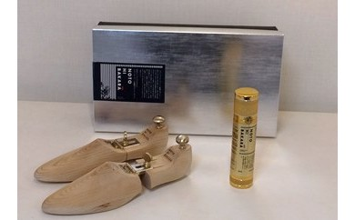 【BH06】【NOTOHIBAKARA】シューキーパーと靴用スプレーセット(Mサイズ)【500pt】