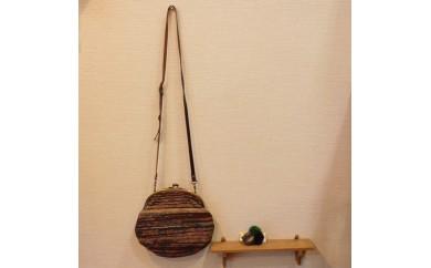 B093④ 裂き織りのバッグ
