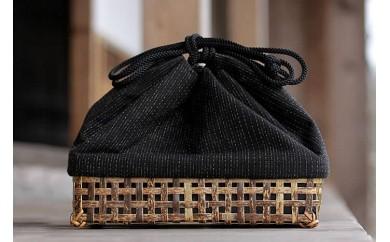 虎竹巾着籠