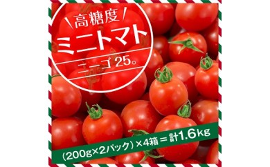 A207 ★高糖度★ミニトマト『ニーゴ25。』
