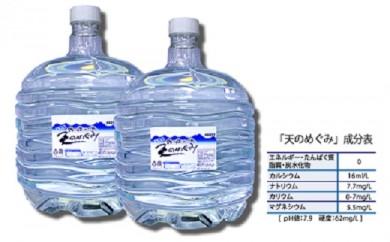 F【425-195】 天然水「天のめぐみ」12ℓ 24本