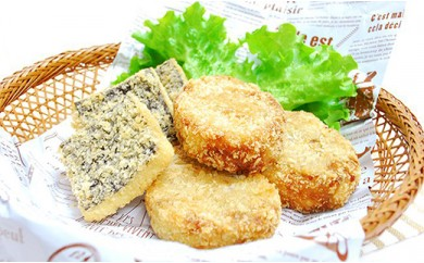 A)雑穀キッチン 雑穀高きびコロッケ&雑穀ひえフィッシュフライ