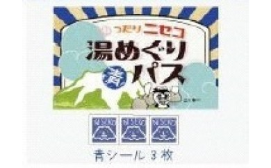 [A-95]【ニセコ町】ニセコ湯めぐりパス ブルーカード