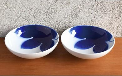 A40-20 深川製磁 IROHA ペアめん鉢