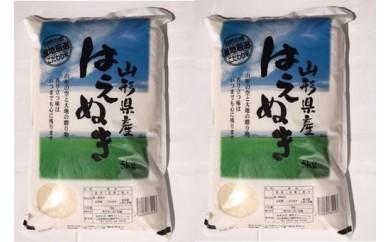 N29-022 平成29年産米鶴岡産はえぬき(10㎏)